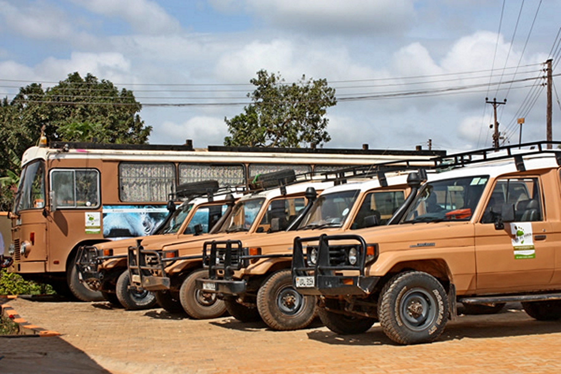 , Our Safari Vehicles